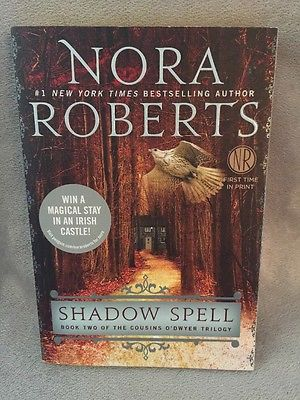 book cover shadow spell nora roberts