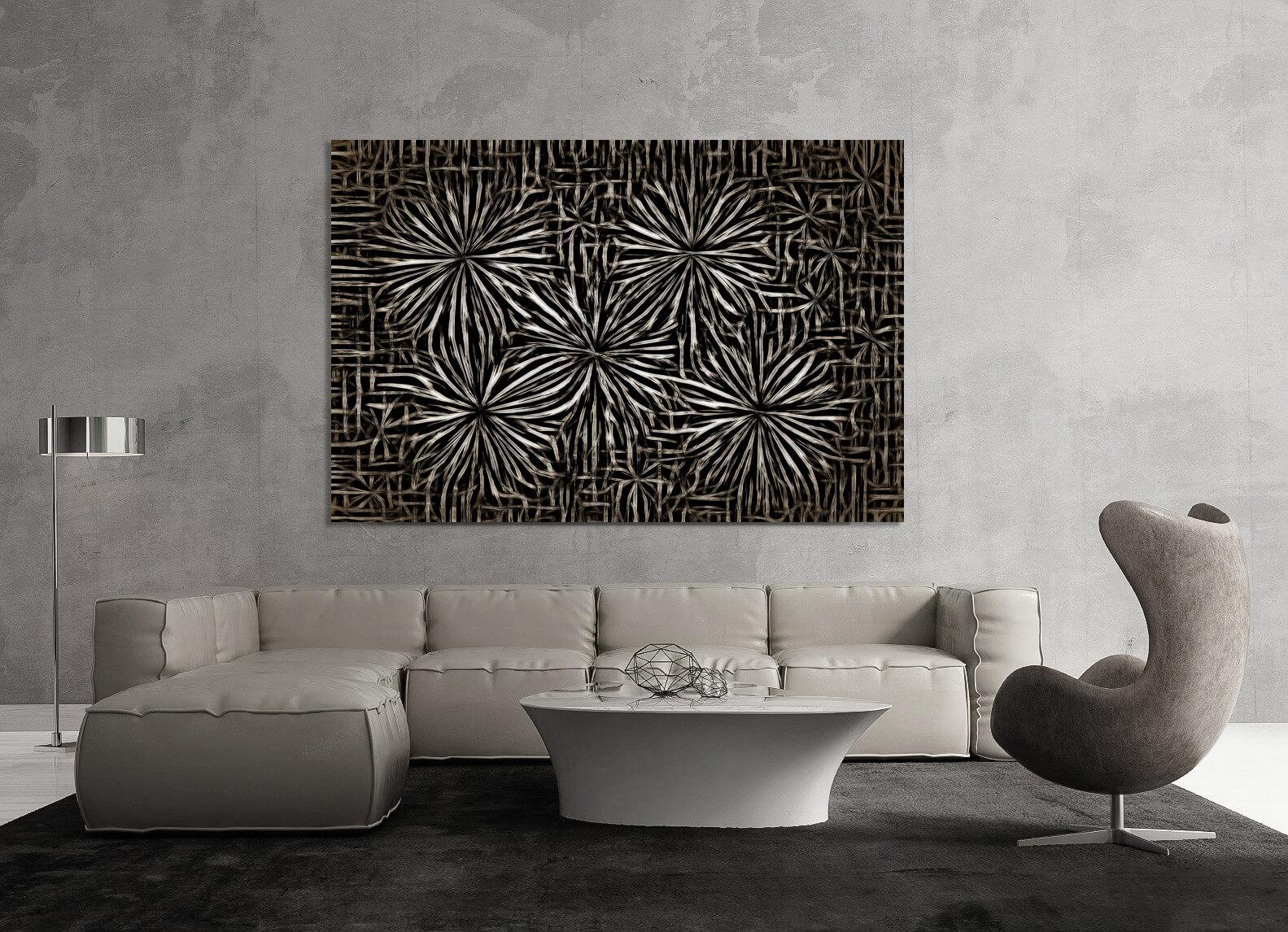 Steel Flowers interior