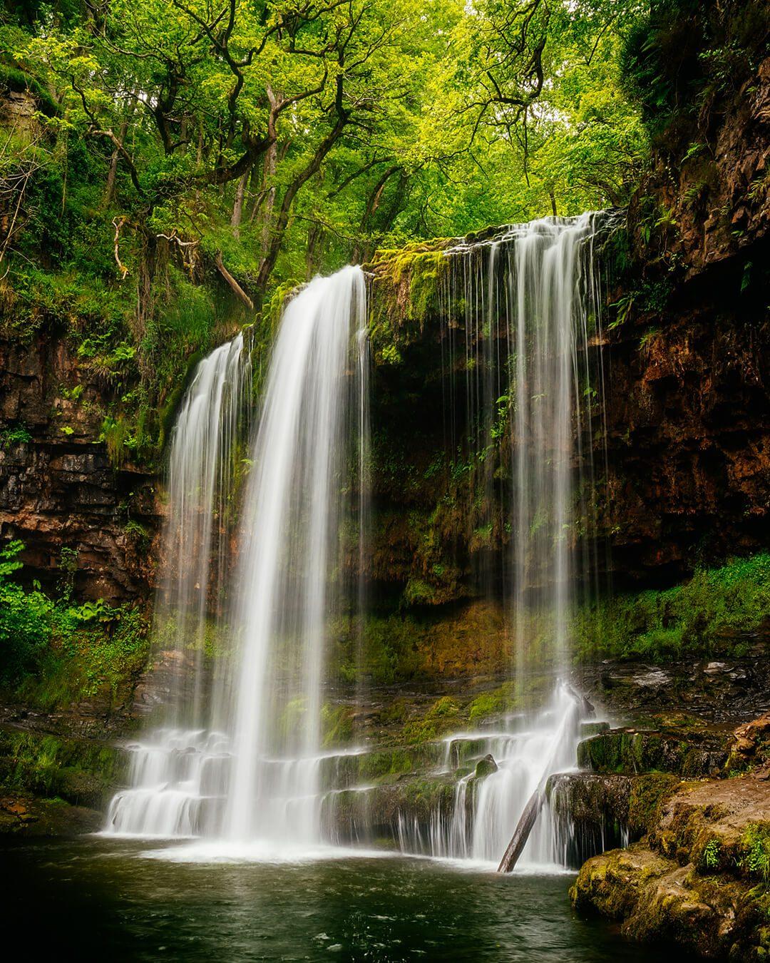 The Snow Waterfall