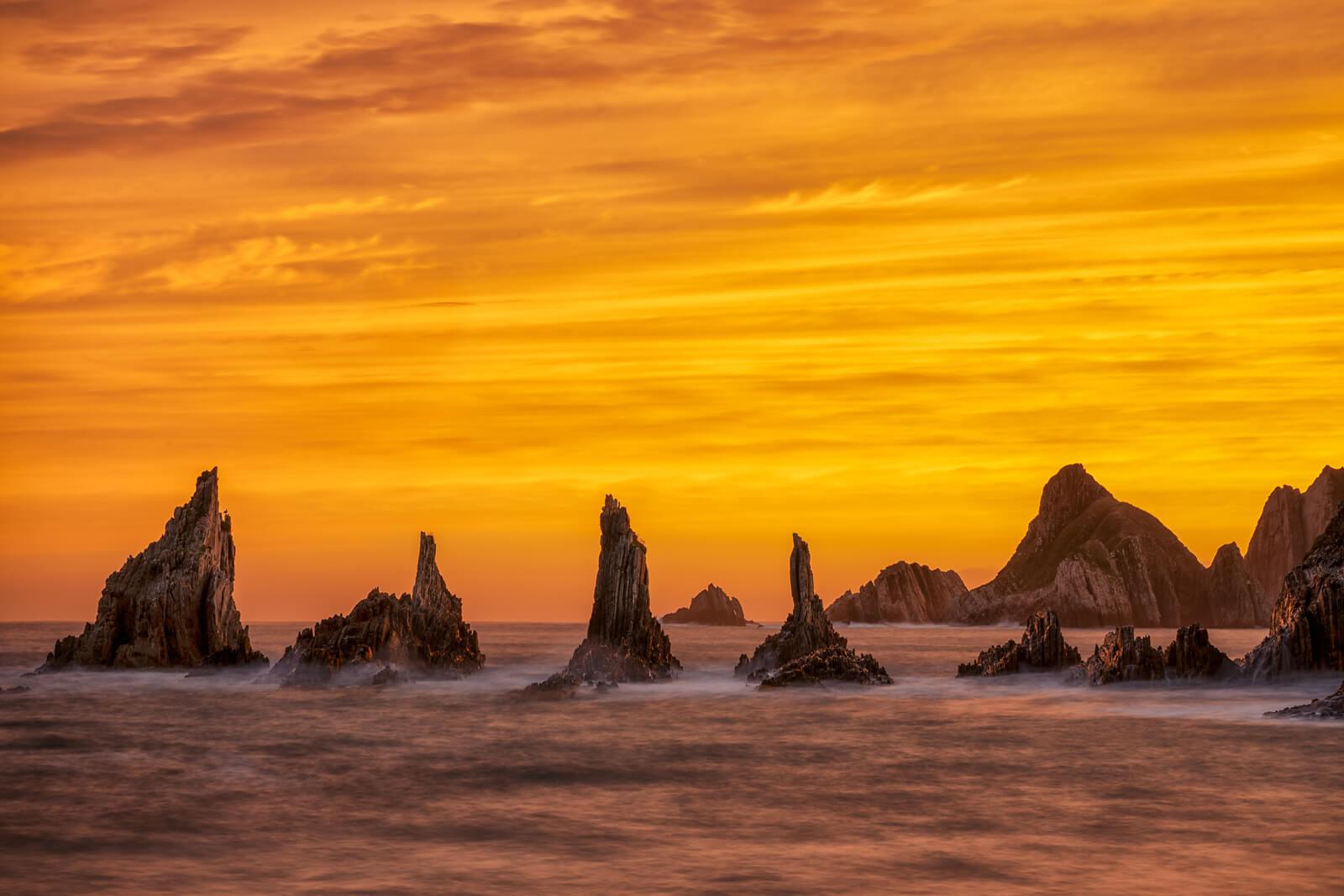 Sunset in Asturias
